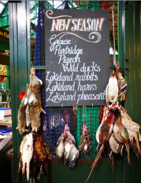 Borough Market poultry