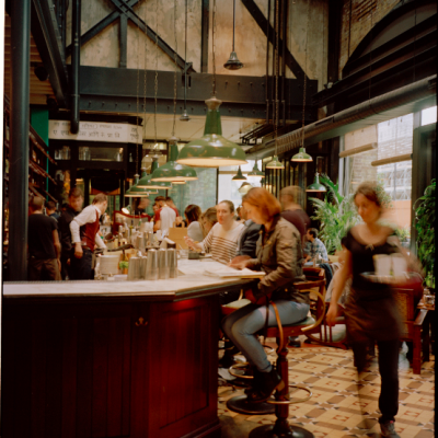 Dishoom king's cross interior