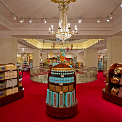 Fortnum and Mason interior