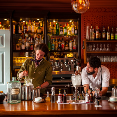 The Zetter Townhouse cocktail lounge bartenders